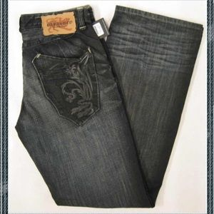 Parasuco Jeans bootcut distressed jean